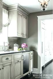 gray glazed cabinets best grey kitchen walls ideas on paint for chalk color