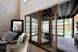 safe room doors patio transitional with indoor outdoor outdoor
