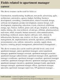16 fields related to apartment manager - Apartment Manager Job