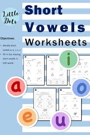 These short a worksheets are no prep and easy to differentiate. Preschool Phonics Short Vowels Worksheets