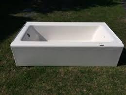 kohler belleweather tub installed and removed unused