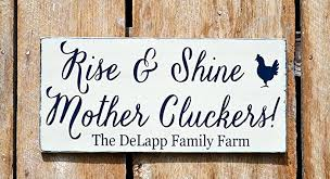 personalized farm sign outdoor chicken coop signs rise shine mother cluckers farm house on chicken coop wall art with amazon personalized farm sign outdoor chicken coop signs rise