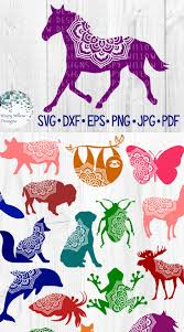 Be sure to check out our website at svgfilesfree.com. Animal Mandala Bundle Svg Bundle Animal Svg Bundle Animal Silhouette Pig Butterfly Sloth Dolphin Frog And Flower Svg Files Butterflies Svg Cricut Free