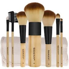 makeup brush set walmart. shany bamboo makeup brush set (7 count) walmart