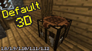 3d texture packs default 3d resource pack for minecraft 1 12 2 1 12 1 1 12 1 11 2