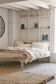 Bohemian Platform Bed. White Platform BedPlatform BedroomDiy ...
