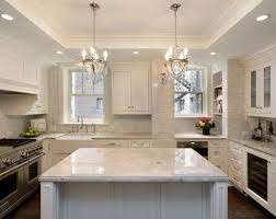 dark wood kitchen cabinets. Kitchen Black Leather Stools Plain White Of Island Countertop Dark Wood Parquete Flooring Classic Cabinets