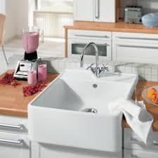Villeroy & Boch Butler 60 1.0 Bowl White Ceramic Kitchen Sink ...