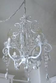 outstanding antique white chandelier shabby chic