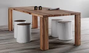 Tavoli Da Pranzo In Legno Design : Tavolo da pranzo in legno naturale triseb