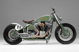 harley davidson flstc heritage softail bobber motorcycle