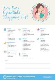 baby item checklist items checklist for new born