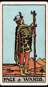 The Card of the Day: The Page of Wands — Elliot Oracle - Tarot Card Readings