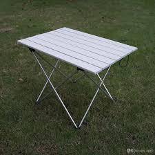 portable outdoor aluminum alloy folding table barbecue picnic picnic folding table light and convenient multi work outdoor table super light aluminium alloy