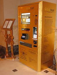 Bar Vending Machines Extraordinary Gold Bar Vending Machine Httpwwwcoinandbullionpagesgold