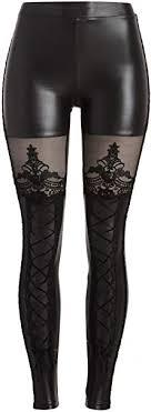 <b>Punk Rave Women's</b> Victorian Style Macbeth Faux Leather Look ...