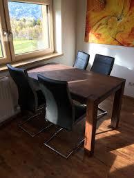 Esstisch Echtholz Massiv Inkl 4 Stühle In 6073 Sistrans For 14900
