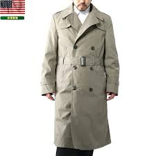 mens military trench coat real used military us marine corps trench coat with liner military outerwear mens military trench coat