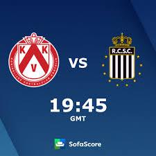 KV Kortrijk RC Sporting Charleroi Live Ticker und Live Stream - SofaScore