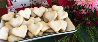 Roll out the dough 5 mm thick and make cookies with the christmas cutters decora and the star cutter decora. German Lemon Heart Cookies Traditional Christmas Cookies