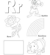 Alphabet Coloring Sheets A Is For Apple Alphabet Coloring Pages
