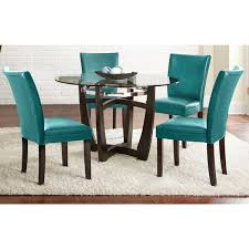 greyson living monoco 5 pc dining set monoco white 5pc set size 5 piece sets round table and chairsround