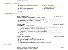Resume Builder Websites Simple Resume Sample