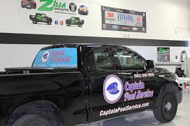 Cut Vinyl Truck Graphics Fort Worth - Zilla Wraps
