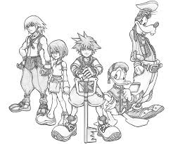 Small Picture kingdom hearts coloring pages Home Kingdom Hearts Kingdom