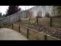 Small Picture How To Build A Retaining Wall For Cheap Garden Retaining Wall