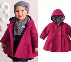 winter jacket for girls infant coats baby girls jackets kids solid hooded warm outerwear coat children clothes navy blue coats for girls kids trench coats
