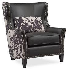 living room furniture santa fe accent chair cowhide