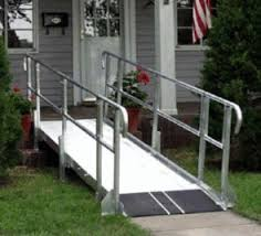 used wheel chair ramps. A Wheelchair Ramp Is An Inclined Plane That Can Be Used Instead Of Stairs By Users As Well People Pushing Strollers Or Carts. Wheel Chair Ramps