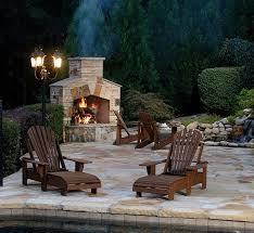 amazing stone fireplace