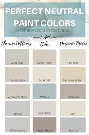 neutral paint colors choose color