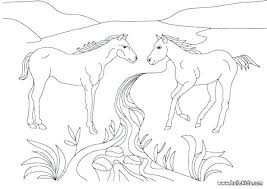 Horse Coloring Pages Wild Horse Coloring Pages To Print Horses