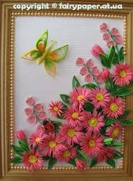 Paper Quilling Flower Frames How To Diy Quilling Flower Framed Wall Art Quilling Floral Designs