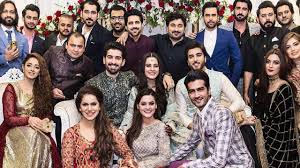 i celebrities at aiman khan and muneeb butt engagement i celebrities at aiman khan and muneeb butt engagement