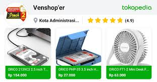 Venshop'er - Cengkareng, Kota Administrasi Jakarta Barat | Tokopedia