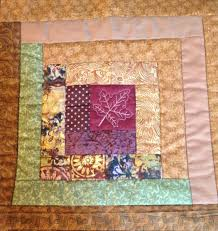 Free Motion Quilting Designs For Log Cabin Quilt As You Go Using Free Motion Quilting May 2015