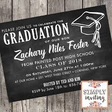 Class Of 2020 Graduation Party Invitations Set Of 10