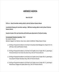 sample agenda standard agenda format parlo buenacocina co