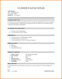 Declaration In Resume Sample Free Resume Example And Writing