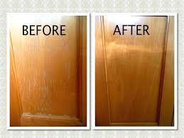 clean kitchen cabinets grease rub the oil mixture onto the cabinets w a rag then wipe with