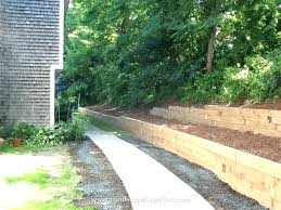 timber retaining wall cost landscaping timber walls landscape timber retaining wall landscape timber retaining wall cost
