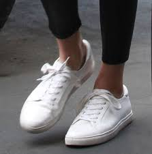 kendall jenner kenneth cole white sneakers
