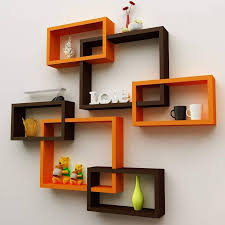wall decoration intersecting floating