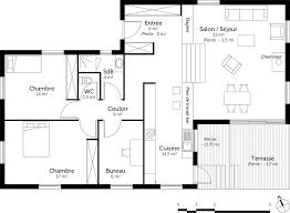 plan maison à demi niveau ooreka