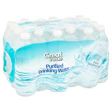 Purifying Drinking Water Great Value Purified Drinking Water 24 X 169 Fl Oz 406 Fl Oz