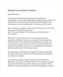 Survey Invitation Email Sample Survey Invitation Sample Employee ...